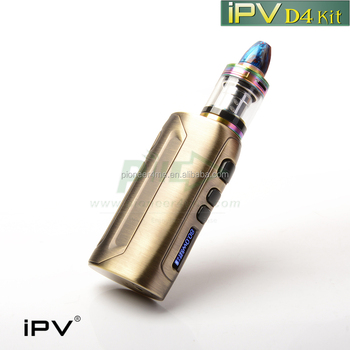 2017 newest product iPVd4 80watt /ipv8 230watt YIHI sx350 chipset colored smoke e-cig ipvd4 vape box mod