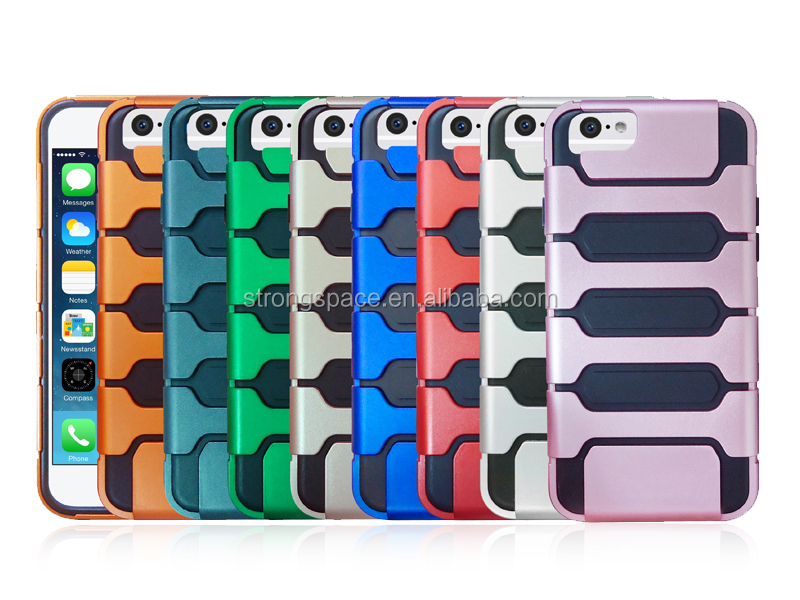 new products 2016 phone cases, Colorful rubber PC and TPU cover case for iPhone 7 and iPhone 7 Plus