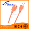electrical wire extension cord with 3 pin plug