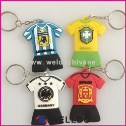 Factory price promotion pvc key chain in Guangzhou