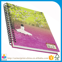 plastic paper notebooks note book cover