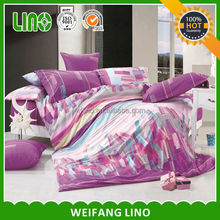 home decor bed cover printing 100% cotton moda home bedding
