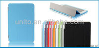 Colorful Magnet smart cover for ipad mini with auto wake up/sleep function
