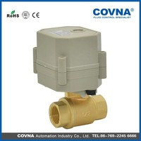 24VAC water electric control ball valve for water leakage detector system