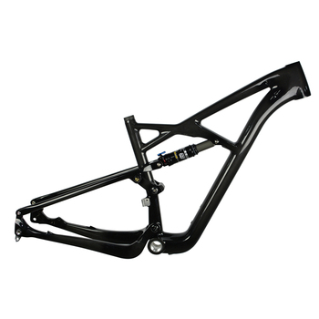 29er MTB Carbon Bike frame with full suspension CF047