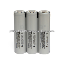 rechargeable battery panasonic CGR18650CH 2250mah 3.7V high power discharging 5C