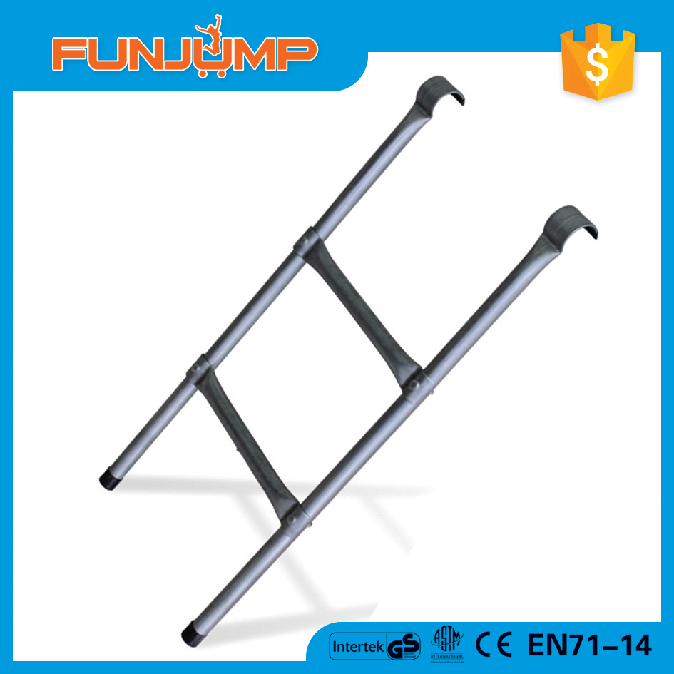 FUNJUMP OEM/ODM ninja jumping 2 steps ladder for outdoor trampoline accessories