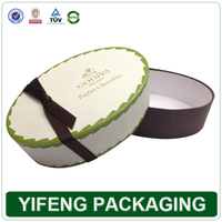 Custom decorative printed color cardboard paper oval soap packaging boxes wholesale