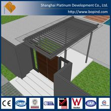 Comfortable Ready Made Prefab Steel Structure Luxury Villa from Shanghai Platinum