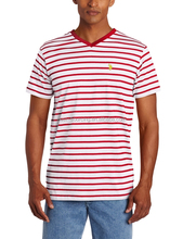 Wholesale high quality custom striped t shirt