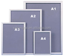A1,A2,A3,A4 and customized sizes aluminum picture frame