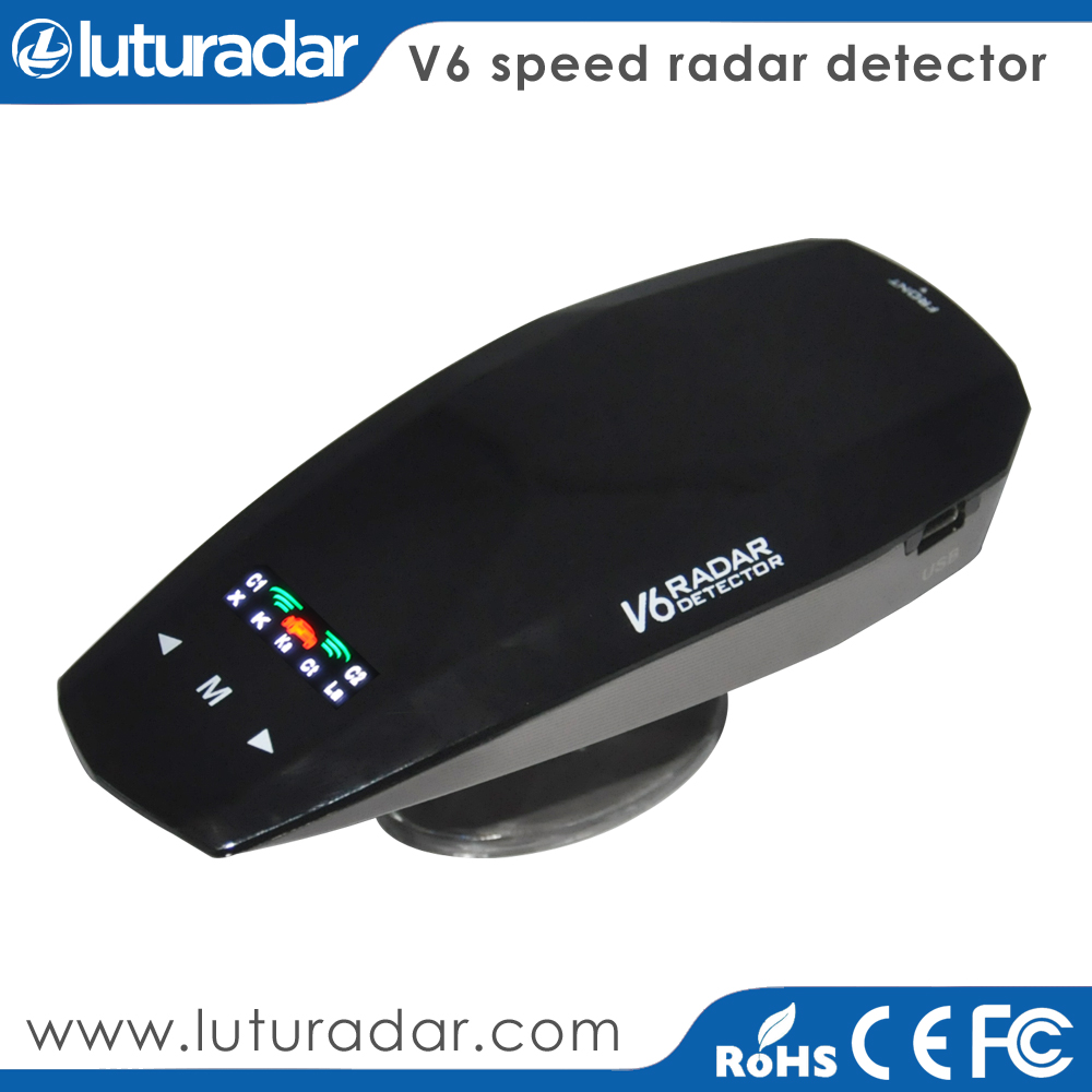 Original Korea ANW Radar Anti Car Radar Laser Beam Detector V6 360 Degree Detection