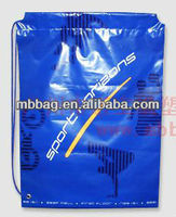 HDPE plastic biodegradable laundry bag with drawstring