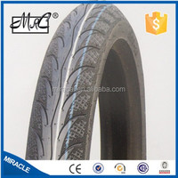 Tubeless motorcycle tire and tube 80/90-17 90/80-17