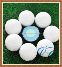 Customized logo golf ball/three piece used golf balls