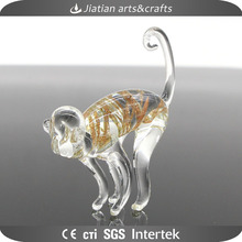 Lampwork murano miniature glass monkey figurine