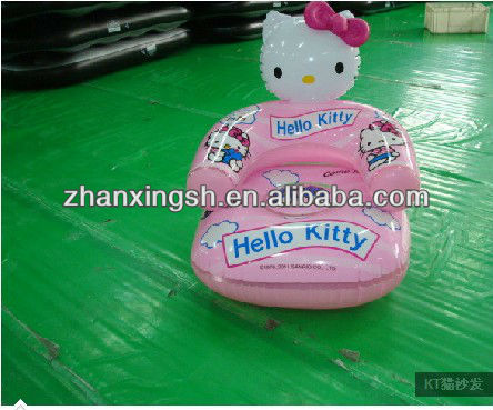 Promotional&Hot selling pvc inflatable chair for children