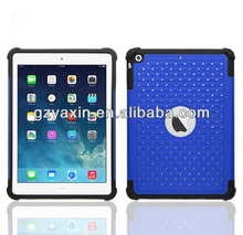 pure color case for ipad air,hard back case for ipad air,for ipad air soft case