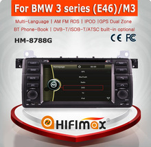 HIFIMAX WIN CE 6.0 Auto radio car dvd for BMW 3 Series (1998-2001)E46(BMW Old 17-Pin connector) car audio navigation system