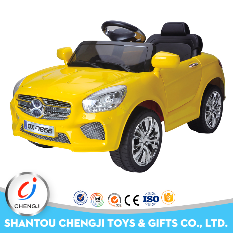 Hot selling newest 2.4G big ride on rc electric car kids with light
