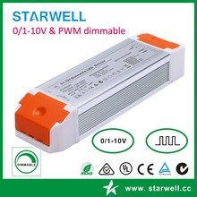 PE60AA24 constant current 24V 2.5A max led power supply 0-10V Dimming led driver 60W