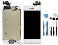 For iPhone 5 White Full LCD Display &Touch Screen Digitizer Assembly Replacement