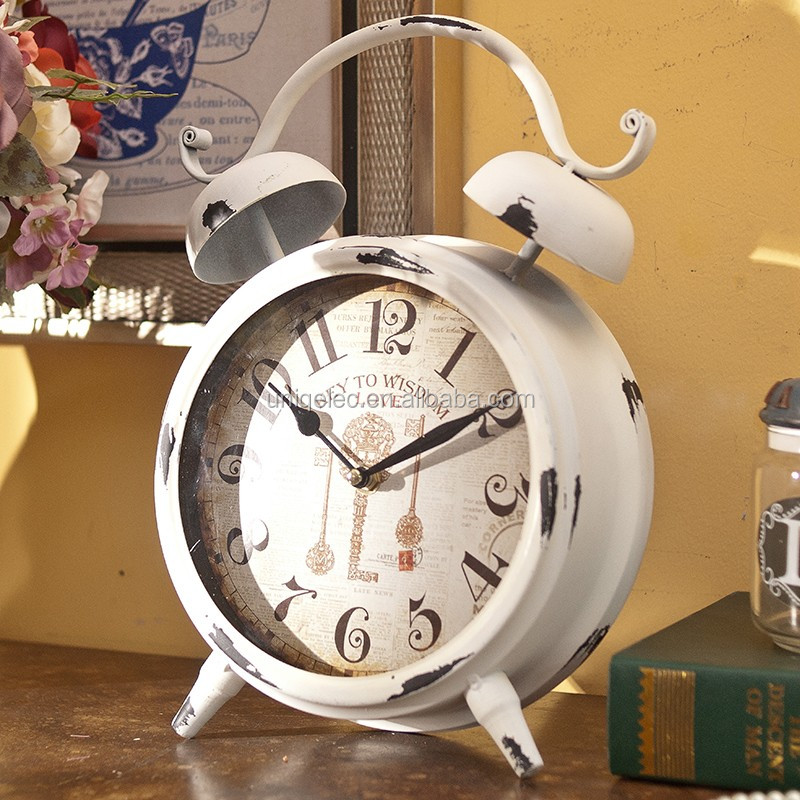 MA0041 colorful small craft gift desk clock for business