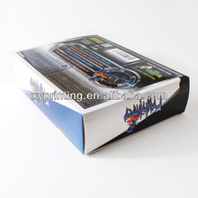 Mobile phone battery packing/glossy paper box