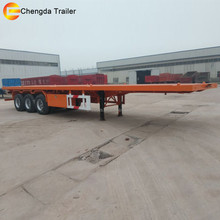 2/3 axles 40 foot container price,flatbed semi trailers for sale,40feet container semi trailer