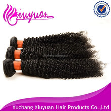 fashion afro kinky curly double drawn indian remy 3 piece hair weave 8''-32''
