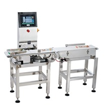 Automatic online high precision food industry large weighing capacity check weigher machine