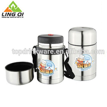 Food storage container warmer thermos metal stainless steel lunch box