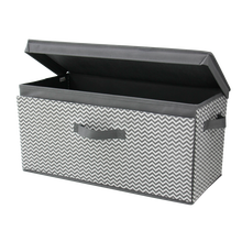 Wholesales collapsible adjustable drop front non woven storage chest for sale