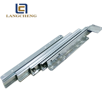 metal telescoping channel slide for family dining room table