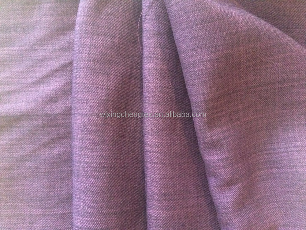 Le Lisi fabric/soft Imitation linen fabric/100% polyester Artificial flax fabric