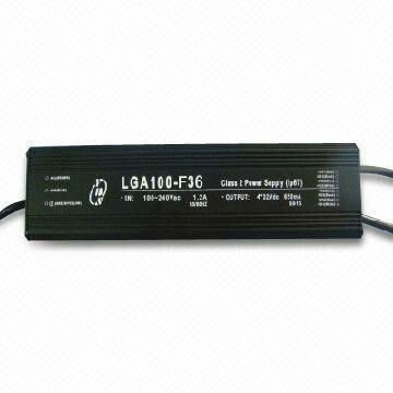 LED Driver , 100Watt waterproof , Four Output Switching Power Supply