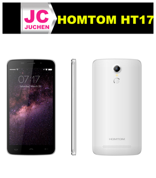 "Chinese brand 5.5"" screen android 6.0 13.0MP original homtom ht17 for sale"