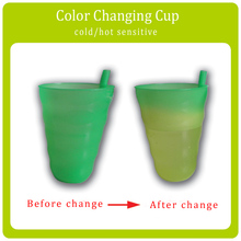 Factory Price Temperature Sensitive Color Changing Plastic Cup