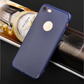 DFIFAN Colorful frosted tpu material case for iphone 7 8 ultra slim case,matte colorful case back cover for iphone 7 8