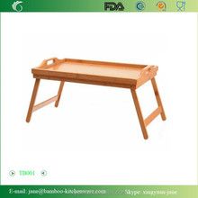 Bamboo Bed and breakfast Tray with Folding Legs