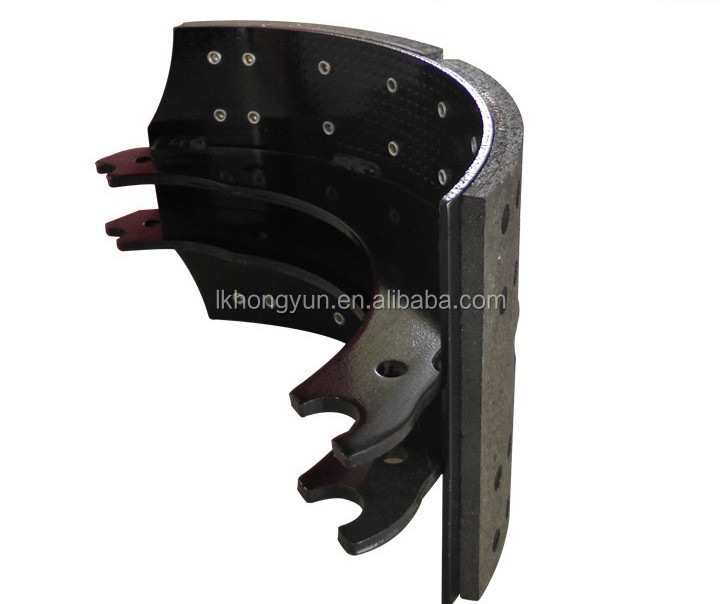 Brake Shoe Lining Thickness : Brake pad for daf mb sb china