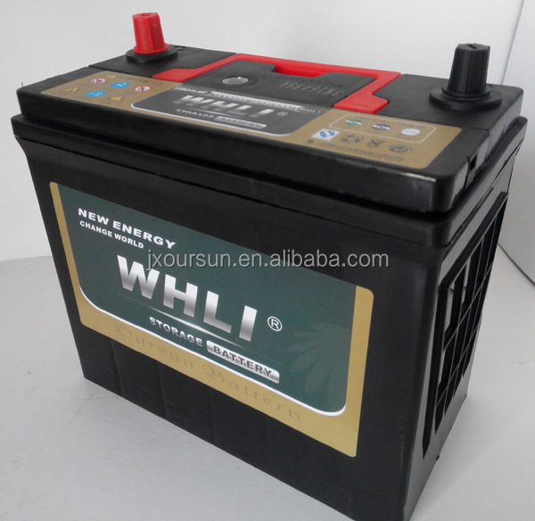 46B24MF 12V 45AH WHLI automobile starting power 12v car battery price from China manufacturer