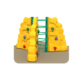 Kids outdoor climbing wall plastic child use play set climbing wall holds HFB148-01