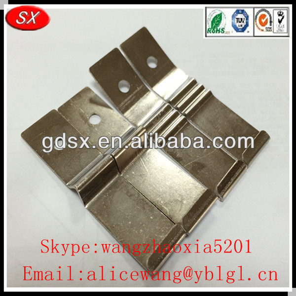 ISO9001 custom spring clips for furniture, small spring clip,spring steel belt clip in China manufacturer