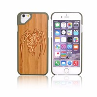 OEM Acceptable Service Custom Engraving Mobile Phone Covers Wood