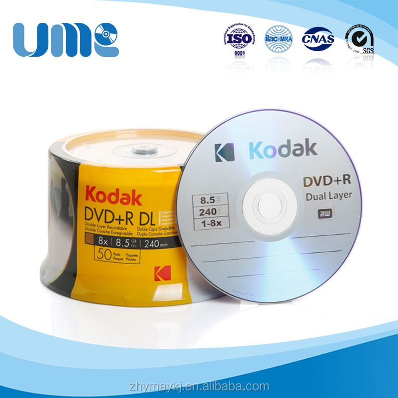 Supplier shrink wrap 8.5GB 8X blank dvd wholesale