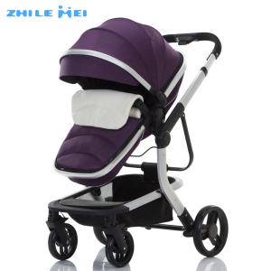 2017 Oem Acceptable High View Baby Carriage 3 In 1 Stroller With En1888
