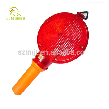 Highly Visible Portable LED Traffic Barrier Flashing Blinker Light