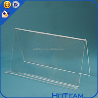 Wholesale Ingenious Clear Acrylic Wide Style Ledge Book Easels
