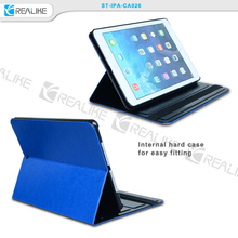 PU Leather Case custom tablet leather case leather tablet case for ipad5, for ipad air 1 cover